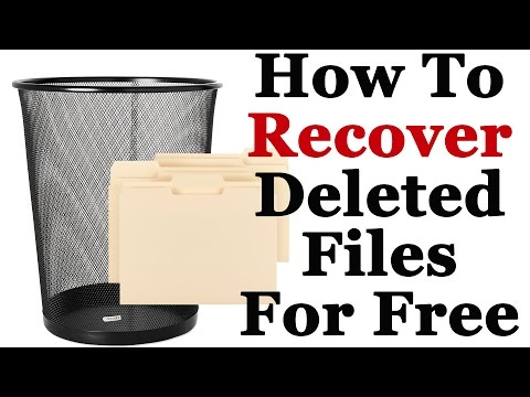 how to recover permanently deleted files for free in windows 7 8 and 10