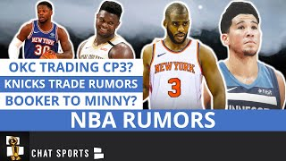 NBA Rumors: Chris Paul Trade, Knicks Trade Rumors, Zion's Shoe Deal & Chauncey Billups Coaching