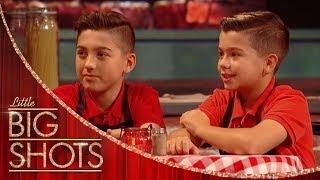 Jersey Pizza Boys Interview | Little Big Shots