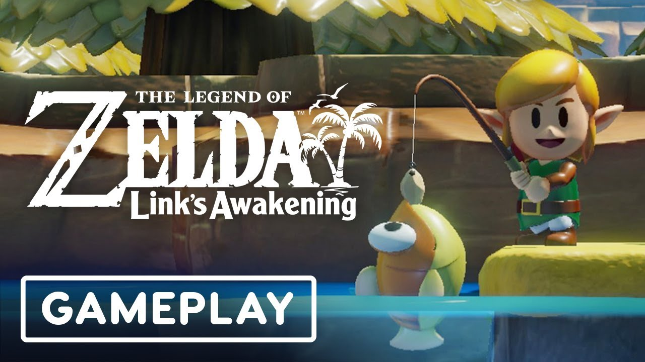 Link's Awakening Remake: Das passiert, wenn du versuchst zu stehlen - E3 2019 + video