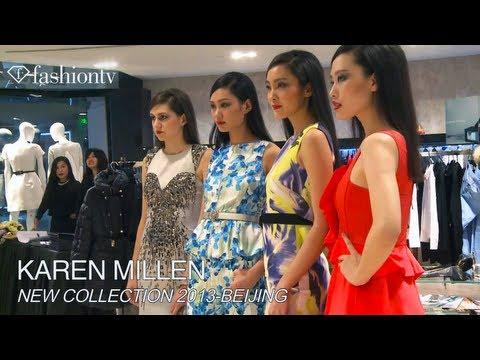 Karen Millen 2013 Collection in Beijing   FashionTV