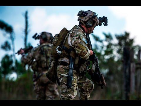 U.S. Army Rangers & Navy SEALs Capabilities Demonstration
