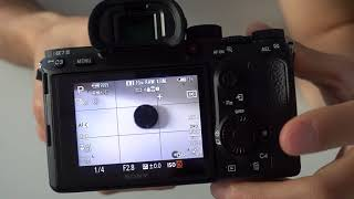Essai du Sony A7iii / A7 III : personnalisation (boutons perso, fonction, support d'enregistrement)
