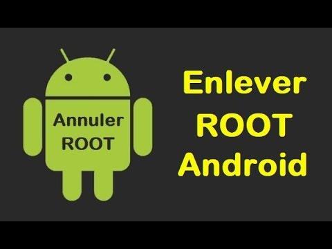 desinstaller application en root