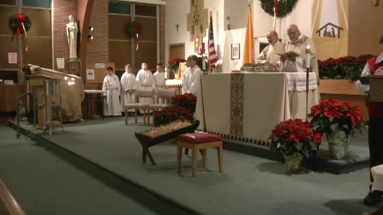 St. Joseph's (Mooers) Christmas Eve  12-24-13