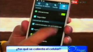 ¿Porqué se calienta el celular?