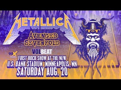 Metallica - Minneapolis MN - 8-20-2016 - full concert - US bank stadium