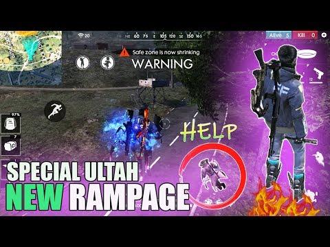 Mode Terbaru New Rampage Free Fire Advance Server Special Ulang Tahun