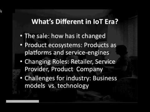 A NextMarket Webinar: Creating Scalable Consumer Products & Services in the Internet of Things Era