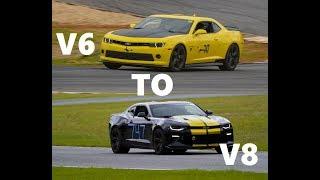 Going from a V6 Camaro To a V8 Camaro