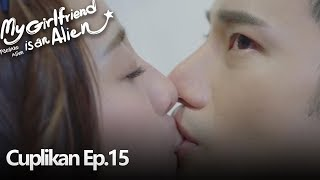 My Girlfriend Is An Alien | Gabungan Cuplikan Ep.15 | 外星女生柴小七 | WeTV 【INDO SUB】