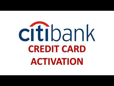 Citi Bank Credit Card Online Activation