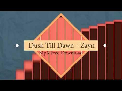 Zayn Malik Ft. Sia - Dusk Till Dawn (FREE MP3 DOWNLOAD)