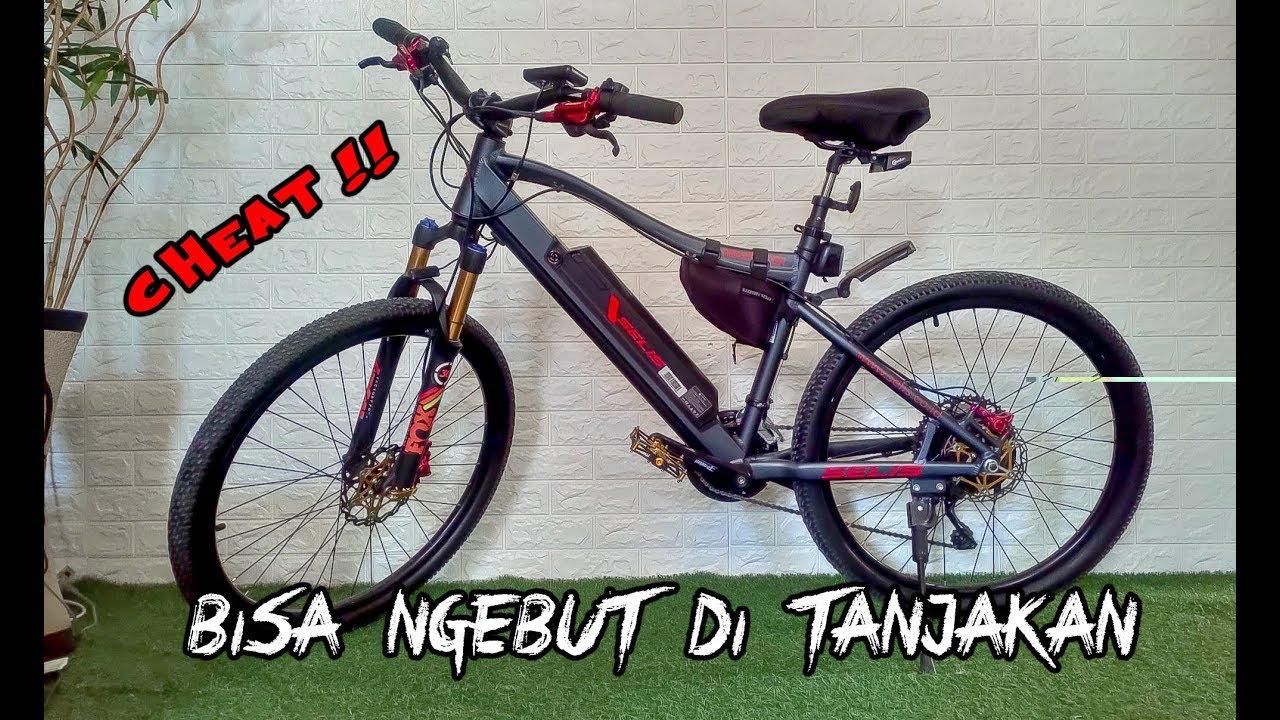 Review Test Drive Sepeda MTB Ebike Murah & Keren Bisa