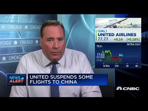 United Airlines Suspends Some Flights China Starting February 1