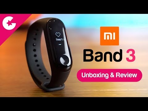 Xiaomi Mi Band 3 Unboxing & Review - Best Fitness Tracker??