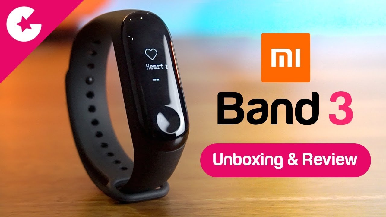 17bf1ea9333 Xiaomi Mi Band 3 Unboxing   Review - Best Fitness Tracker   - YouTube