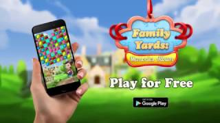 Family Yards: Match-3 Fruits Crush Puzzles