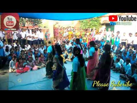 PRABHU SHIVANKARA JETE KATHALO  SCHOOL GIRL DANCING