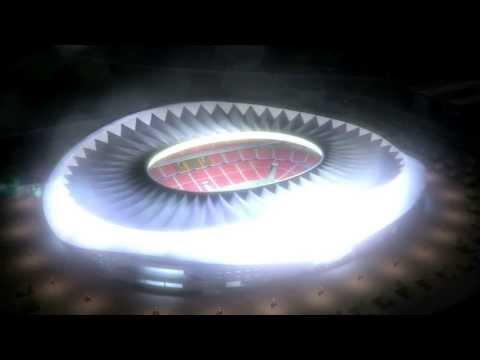 Visita 3D al Nuevo estadio del Club Atlético de Madrid
