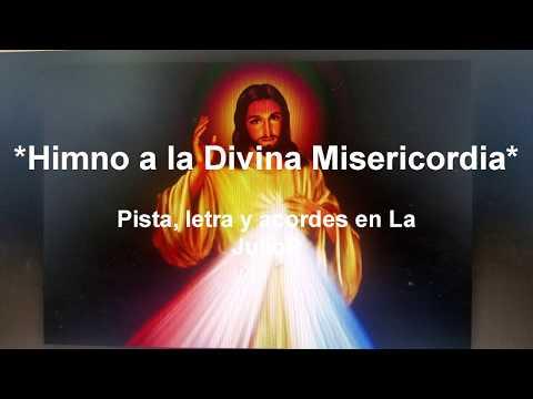 Himno a la Divina Misericordia Pista letra y acordes en La