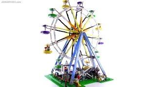 LEGO Creator 2015 Ferris Wheel review! set 10247