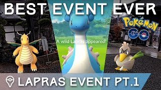 POKÉMON GO LAPRAS EVENT AND NEW SPAWNS IN JAPAN (Trainer Tips Japan Episode 2)