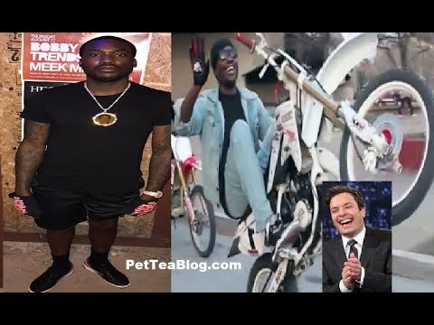 Meek Mill Arrested in NYC for Dirt Bike right b4 JiMMY FALLON Show 👮🚓🚴 #MeekMill