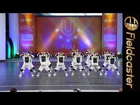 神ワザ日本人選手がダンス大会で世界の頂点に2018 FISU World University Cheerleading Championships