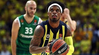 Bobby Dixon Highlights Fenerbahce 2017-2018 ᴴᴰ - Assassin!