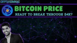 Is Bitcoin Ready To Break Through $4K?