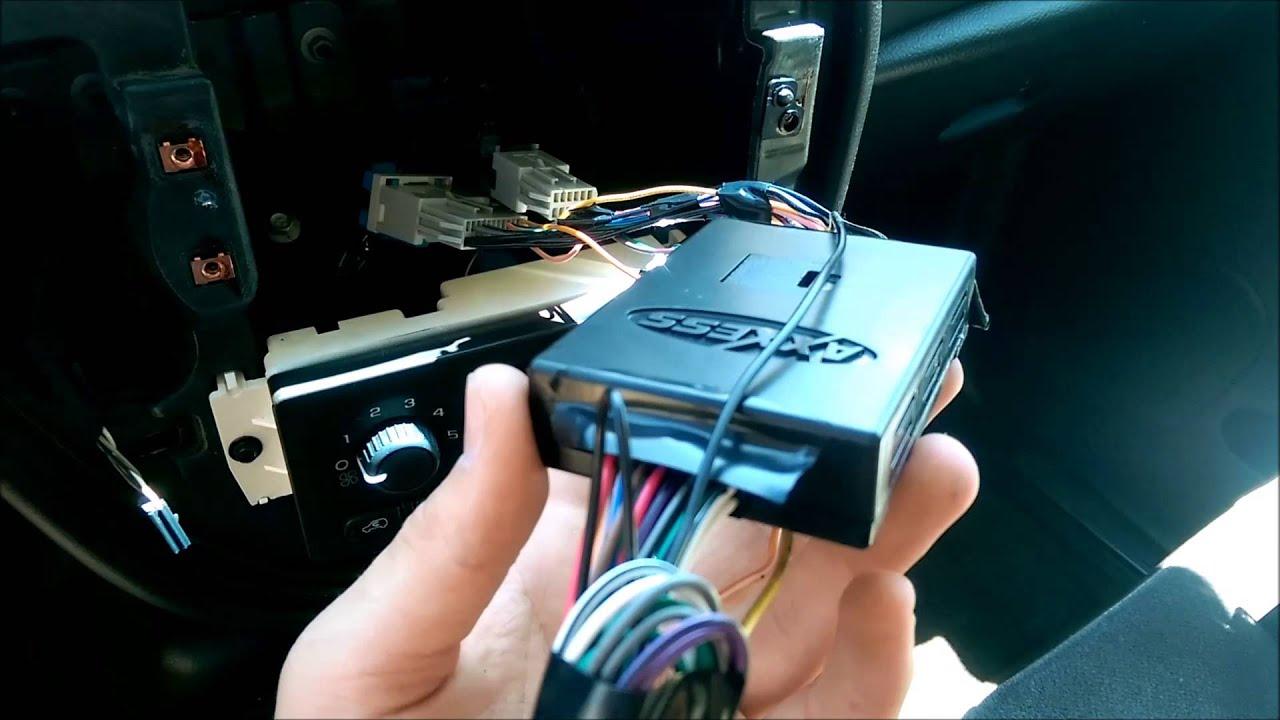 medium resolution of radio install in chevy trailblazer with bose premium sound