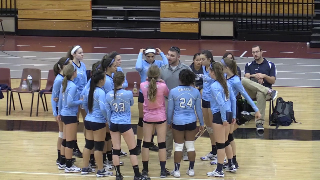 Volleyball vs. North Andover 10-24-16 - YouTube