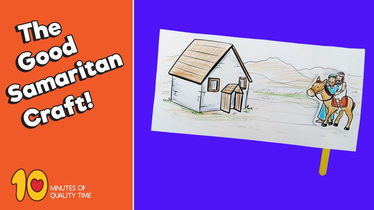 The Good Samaritan Kids Lesson: Jesus' Parable of the Good ... |The Good Samaritan For Preschoolers