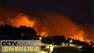 [国际财经报道]热点扫描 西班牙:大加那利岛灭火工作取得进展| CCTV财经