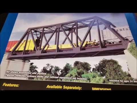 Build Series #4B Walthers CornerStone Single Track Truss Bridge