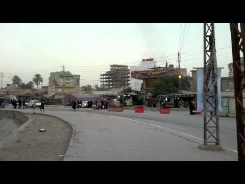 Iraq Karbala - Street View in Karbala (HD)
