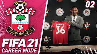 Diallo Signs! - FIFA 21 Southampton Career Mode #2
