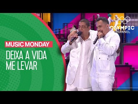 Deixa a Vida Me Levar - Zeca Pagodinho & Marcelo D2 @ Rio 2016 Opening Ceremony | Music Monday