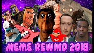 MEME REWIND 2018 | The best memes of 2018 | What Rewind 2018 should have been