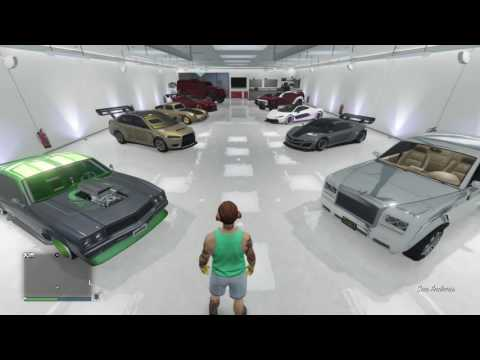 Gta V  my cars cost me 1,000,000,000$