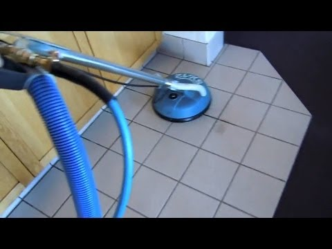How to Clean Tile and Grout Demonstration - Hydro Force SX-12