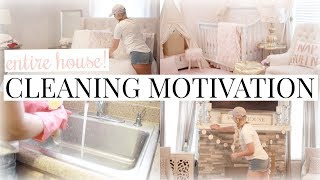 EXTREME CLEANING MOTIVATION | MY ENTIRE HOUSE | ULTIMATE CLEAN WITH ME