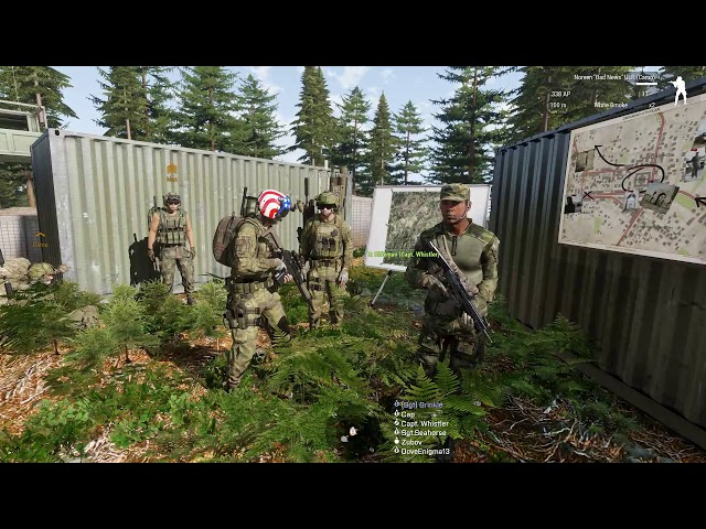 DoveEnigma13! Arma 3 mission with Task Force Athena! Always a good thing!