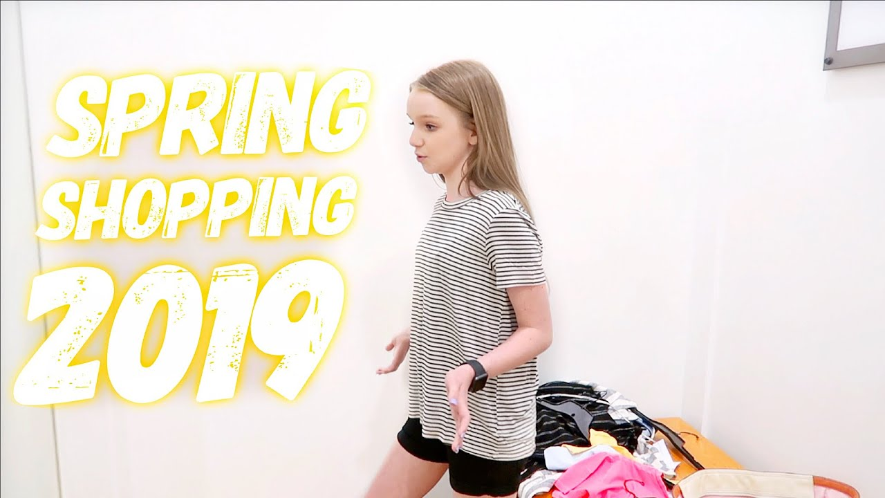 SPRING CLOTHES SHOPPING 2019  and DRESS TRYON | Bryleigh Anne 9