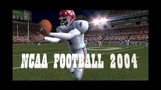 Playing NCAA Football 2004 in 2019! (PS2)