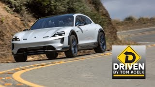 Driven! The Porsche Mission E Taycan Cross Turismo Concept Electric Vehicle