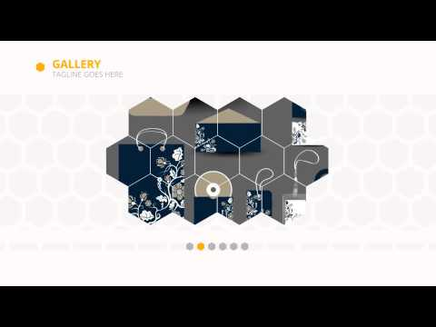 hexagon - corporate video | videohive templates | after effects, Presentation templates