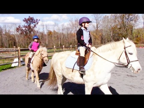 Sisters Horseback Riding Together ♥