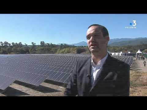 Autonomia energetica: Corsica Sole inaugura la più grande centrale fotovoltaica dell'isola